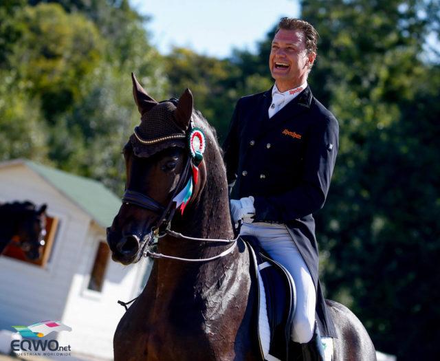 Ferrero Küsschen trägt seinen Reiter Peter Gmoser zum Meistertitel in der kleinen Tour