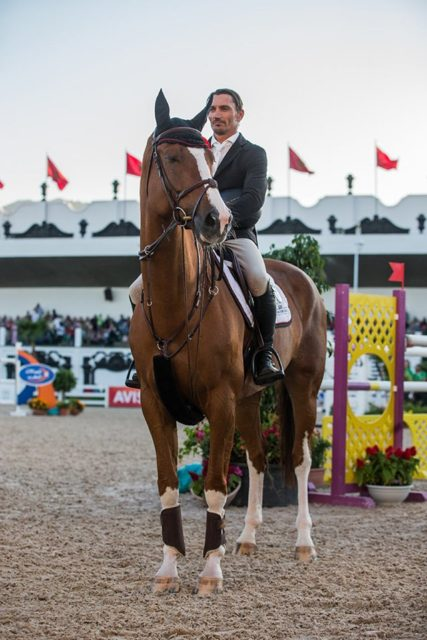 Tolle Erfolge für Fixkraft-Reiter Stefan Eder in Marokko. © R&B Presse, S.Rispail