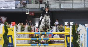 Toller Erfolg für den 19-jährigen Dominik Juffinger (T) und Neugschwent's Castella im Großen Preis vom Sportland Niederösterreich. © HORSIC.com