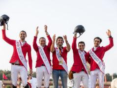 Die ägyptische Mannschaft kann den Nationenpreis gewinnen und ihr Ticket für Tokyo 2020 lösen! © Jessica Rodrigues