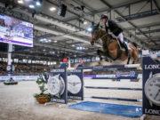 Rasante Sieger des FEI Jumping World Cup™ in Verona: Scott Brash (GBR) auf Hello M'lady © FEI/Massimo Argenziano