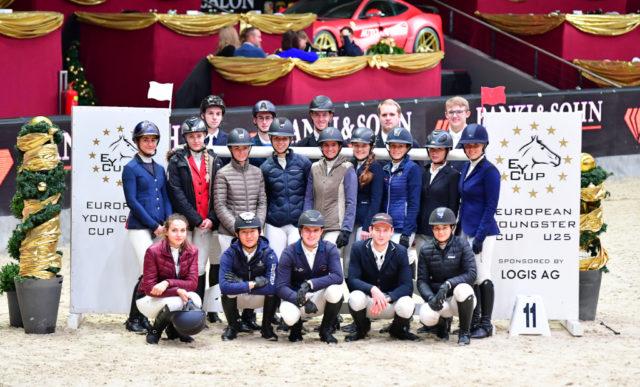 Die EY Cup-Finalteilnehmer bei der Amadeus Horse Indoors tragen heuer Trauer, denn Begründer Rudolf Hindelang ist vor einigen Wochen verstorben. © Daniel Kaiser