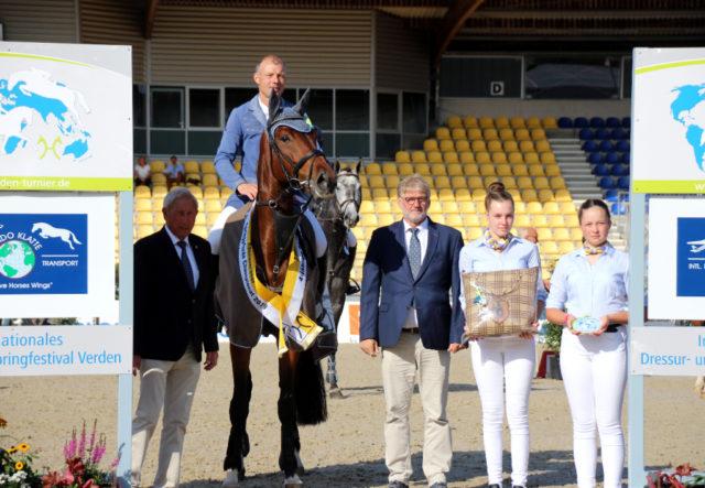 Campino MR wurde 2019 Hannoveraner Champion der vierjährigen Springpferde. © privat