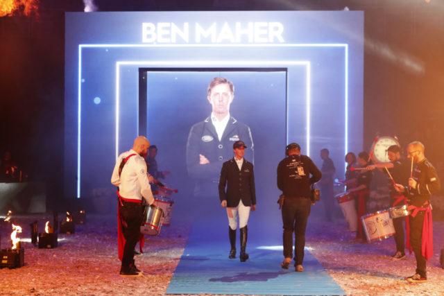 LGCT Super Grand Prix Walk of Champions - Ben Maher (GBR) © LGCT / Stefano Grass