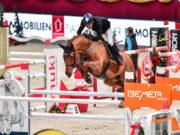 Hans-Dieter Dreher (GER) gewinnt das Salzburg Masters bei der Amadeus Horse Indoors in Salzburg. © Daniel Kaiser