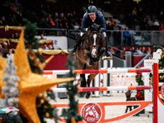 Andrew Kocher (USA) und Squirt Gun gewannen den1,60 m hohen Travel Charme Grand Prix bei der 14. Amadeus Horse Indoors. © EQWO.net