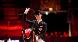 Victoria Max-Theurer und Rockabilly glänzten im horsedeluxe CDI4* Grand Prix Special. © EQWO.net