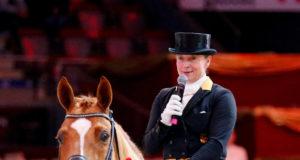 Die weltbeste Dressurreiterin Isabell Werth freut sich auf den hochkarätig besetzten CDI-W bei den Amadeus Horse Indoors. ©EQWO.net