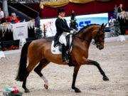 Isabell Werth (GER) und Emilio tanzten zu im Weltcup-Grand Prix zu 78,957 %. © EQWO.net
