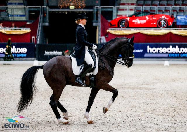 Karoline Valenta (NÖ) und der erfahrene Valenta`s Diego tanzten im Grand Prix Special zu 68,106%, Platz fünf! © EQWO.net