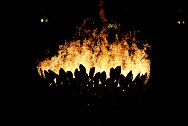 Das Olympische Feuer könnte heuer sprichwörtlich ausgehen. © IOC/ John Huet