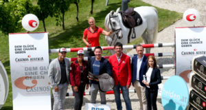 Startschuss der CASINO GRAND PRIX TOUR 2020 powered by equitron! © OEPS/GEPA pictures/Mario Kneisl