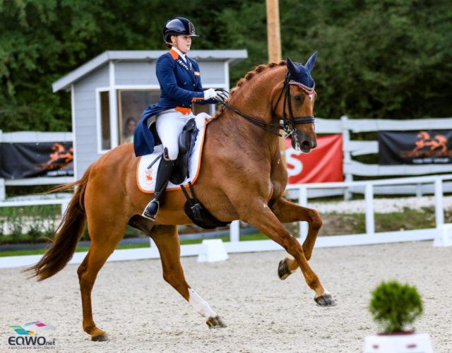 Team-Europameisterin Jeanine Nieuwenhuis (NED) und TC Athene sind auch die Favoriten für den heutigen U25-Einzel-Bewerb. © Petra Kerschbaum