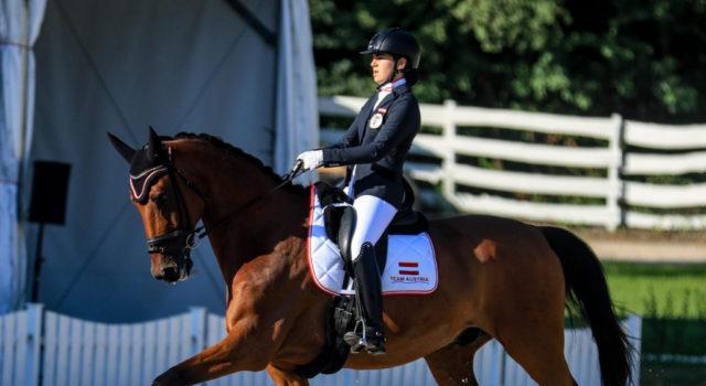 Fürs Finale qualifiziert: Valera Bader (W) konnte sich mit einer sensationellen Leistung auf Rang acht platzieren und zieht somit ins EInzel-Finale ein! © Petra Kerschbaum