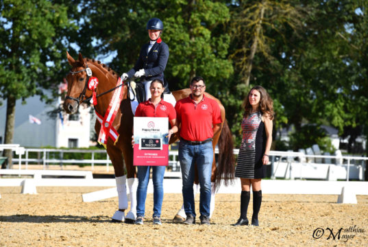 Bundeschampionesse der vierjährigen Reitpferde: Ewalia's Rotkäppchen
