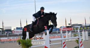 Startet am Freitag (11.9.) für das rot-weiß-rote Nationenpreis-Team der jungen Reiter in Lamprechtshausen: Felix Katzlberger (AUT/S) auf Whinny Loretto. © Fotoagentur Dill