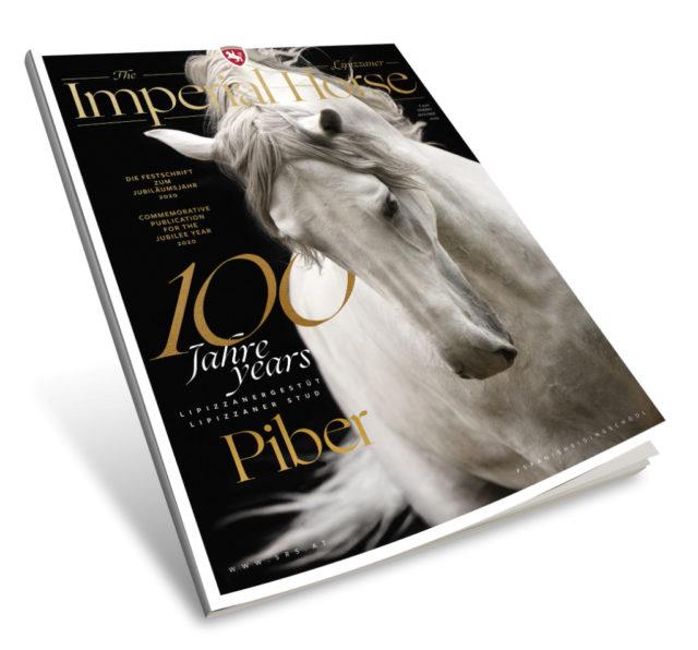 """Zum 100. Jubiläumsjahr der Lipizzaner erscheint in Österreich eine neues Magazin: """"THE LIPIZZANER"""" - The Imperial Horse Magazin"""