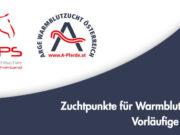 Die AWÖ erstellt in Zusammenarbeit mit dem OEPS auch für 2020 wieder eine detaillierte Auswertung aller Leistungsdaten der im Turniersport eingesetzten Pferde aus österreichischer Zucht. © AWÖ