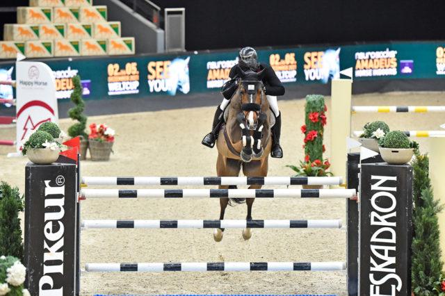 Bester Österreicher war heute Christoph Obernauer (T) mit Kleons Cocario auf Rang 15. © Sibil Slejko