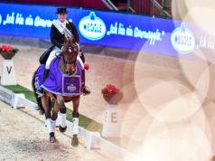 Zum Auftakt der 15. Jubiläums- Ausgabe der Neuro Socks Amadeus Horse Indoors gibt es traditionell eine Pressekonferenz mit hochkarätigen Größen aus Sport und Politik. Mit dabei: die zweimalige Weltcupsiegerin von Salzburg (2016 & 2019) und Nummer 1 des Dressursports Isabell Werth (GER). © Daniel Kaiser