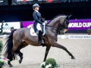 Absolute Harmonie und mit 87,960% der Weltcupsieg für Jessica von Bredow-Werndl und TSF Dalera BB. © EQWO.net