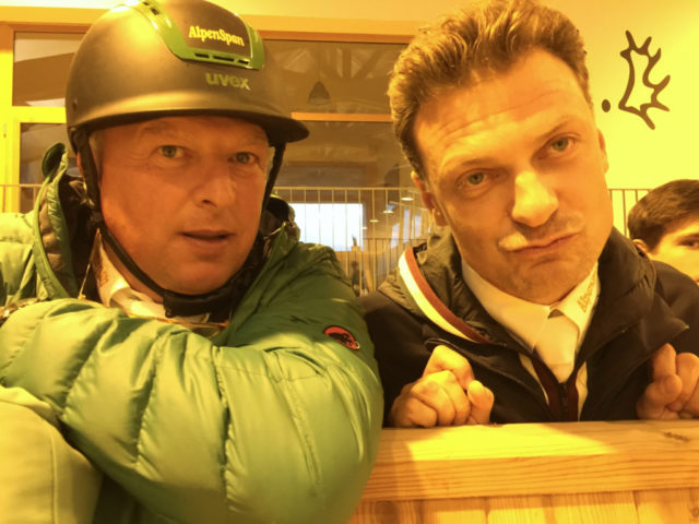 Anton Martin Bauer und Peter Gmoser beim Alpenspan Team-Shooting auf Gestüt Murtal. © EQWO.net