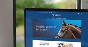 Die neue Homepage: www.passier.com © Passier