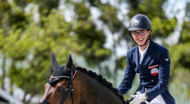 Der 18-jährige Wiener Leon Aschauer war erstmalig mit dem zwölfjährigen Formidable international am Start. © Petra Kerschbaum