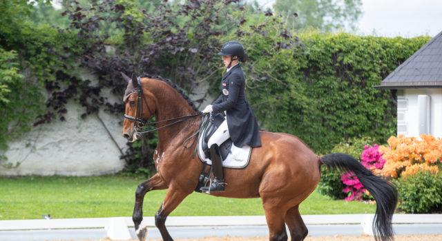 Astrid Neumayer und Zap Zap konnten in dieser Saison international bereits tolle Erfolge verzeichnen. © CDI Achleiten