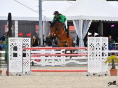 Beste Reiterin im Team rot-weiß-rot: Marie Christina Sebesta (W) auf Chester Blue! © Sibil Slejko