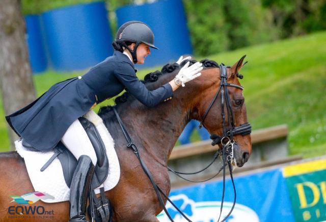 Es war erst der zweite Grand Prix Special im Leben des jungen Farant, bei dem er unter Timna Zach 73,021% erhielt! © Petra Kerschbaum