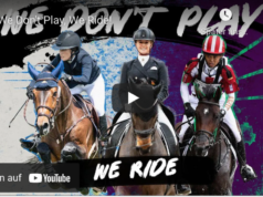 We don't play, we ride! © FEI Global