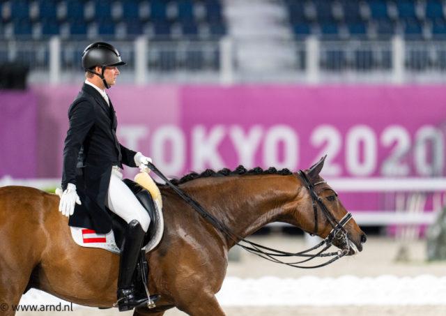 Gemischte Gefühle bei Florian Bacher nach seinem Olympia-Debüt: Fidertraum war noch sehr beeindruckt von der Kulisse - knapp 70% können sich dennoch sehen lassen! © Arnd Bronkhorst